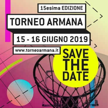 Torneo Armana 2019 – SAVE THE DATE