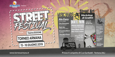 Non solo basket. Torneo Armana è anche Musica, Arte e Sport di Strada.