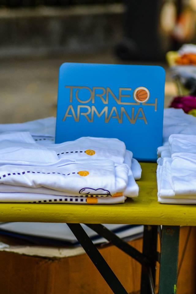 ISCRIZIONI GRATUITE AL TORNEO ARMANA 2019