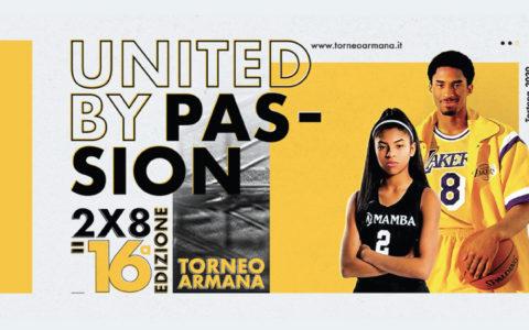 Il Torneo Armana 2020 è United By Passion