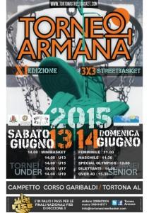Locandina della 11esima edizione del Torneo Armana