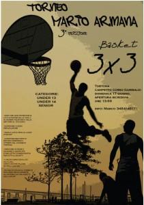 Locandina della terza edizione del Torneo Armana