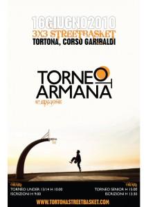 Locandina della sesta edizione del Torneo Armana