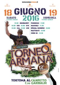 Locandina Torneo Armana 2016