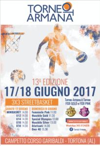 Locandina Torneo Armana 2017