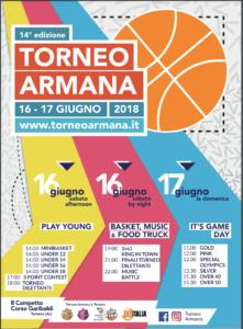 Locandina Torneo Armana 2018