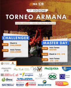Locandina Torneo Armana 2021